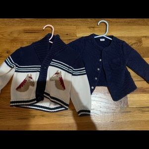 Other - Janie and jack cardigan lot 18-24